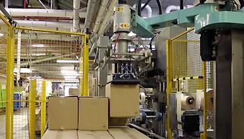 """Système de palettisation robotisé """"traditionnel"""""""
