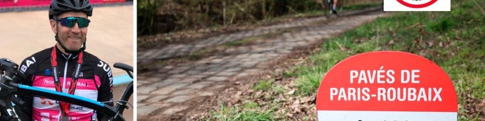 Olivier au Paris Roubaix Challenge 2019
